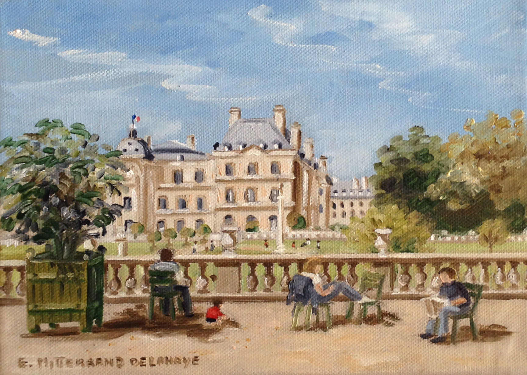 Le jardin du Luxembourg Meet a French Artist